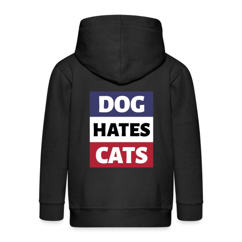 Dog Hates Cats - Kinder Premium Kapuzenjacke