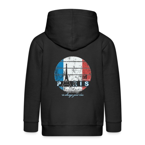 PARIS, FRANCE - Kids' Premium Zip Hoodie
