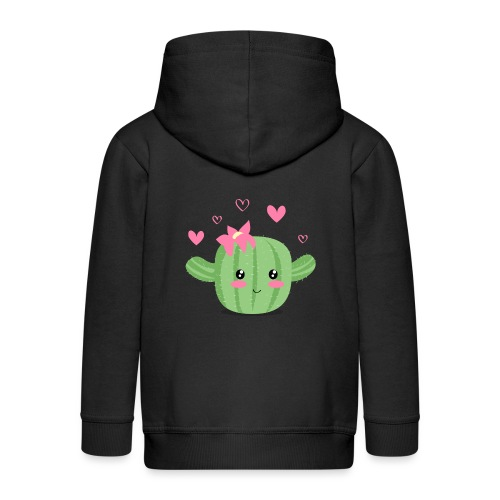 Cactus feliz - Chaqueta con capucha premium niño