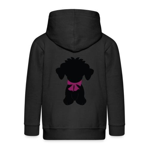 dog png - Kids' Premium Zip Hoodie