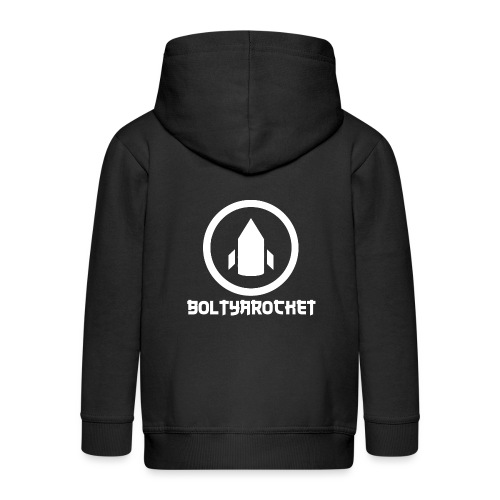 Bolt Ya Rocket - Kids' Premium Hooded Jacket