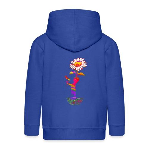 bloemenkind - Kinderen Premium jas met capuchon