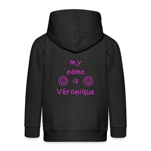 VERONIQUE MY NAME IS - Veste à capuche Premium Enfant