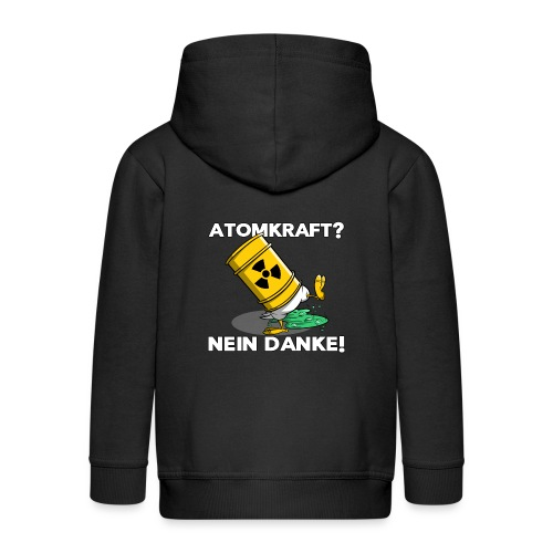 Atomkraft - Nein Danke - Kinder Premium Kapuzenjacke