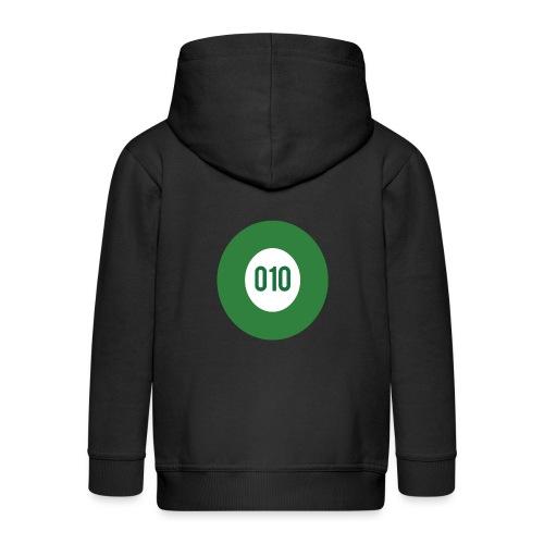 010 logo - Kinderen Premium jas met capuchon