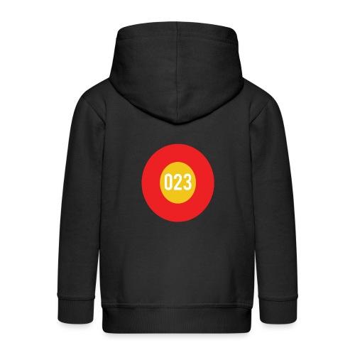 023 logo - Kinderen Premium jas met capuchon