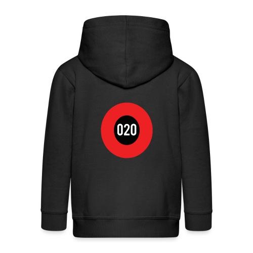 020 logo - Kinderen Premium jas met capuchon