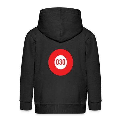 030 logo - Kinderen Premium jas met capuchon