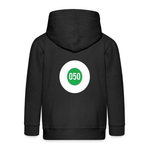 050 logo - Kinderen Premium jas met capuchon