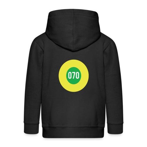 070 logo - Kinderen Premium jas met capuchon
