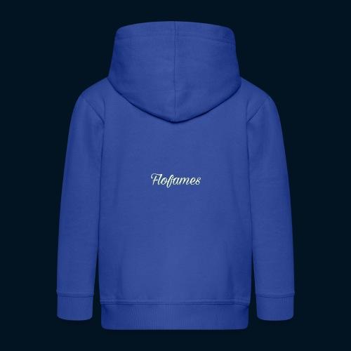 camicia di flofames - Felpa con zip Premium per bambini