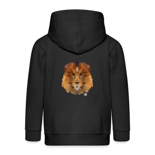 Lion CM - Kinder Premium Kapuzenjacke