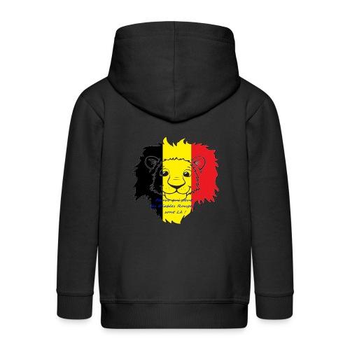 Lion supporter Belgique - Veste à capuche Premium Enfant