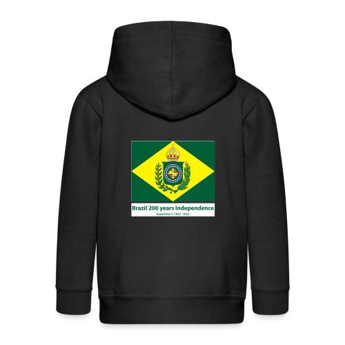 Brazil 200 years independence - Premium Barne-hettejakke
