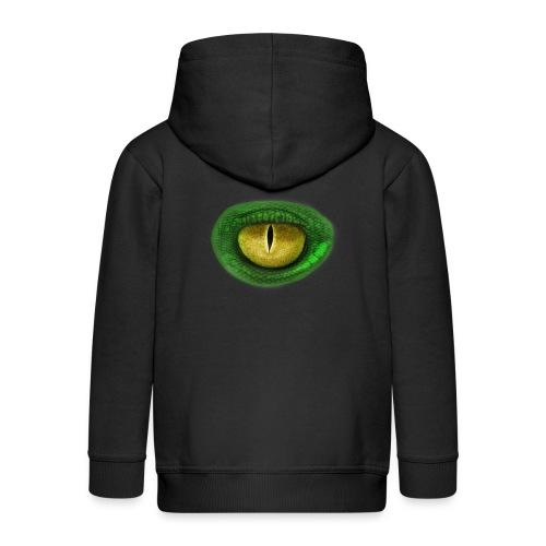 eye - Kids' Premium Zip Hoodie
