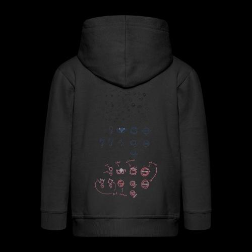 Overscoped concept logos - Kids' Premium Hooded Jacket