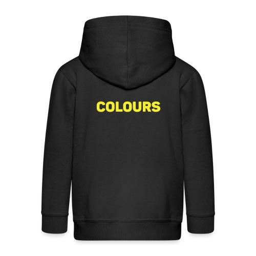 COLOURS - Chaqueta con capucha premium niño