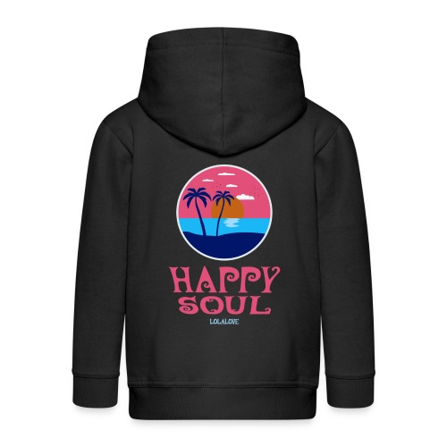 Happy Soul! - Kinder Premium Kapuzenjacke