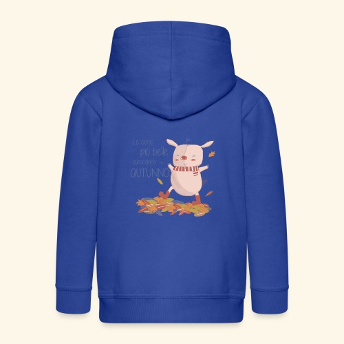 Autumn - Kids' Premium Zip Hoodie