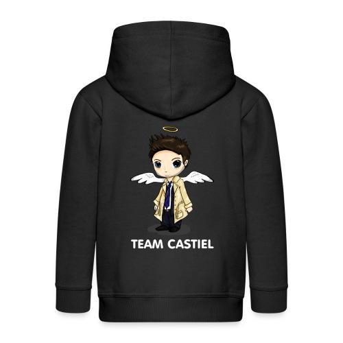 Team Castiel (dark) - Kids' Premium Hooded Jacket