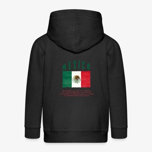Mexican Flag Bandera Mexico - Kinder Premium Kapuzenjacke