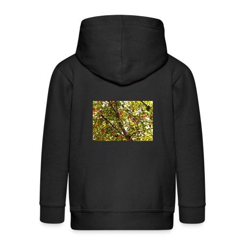 kersenboom afdruk/print - Kinderen Premium jas met capuchon