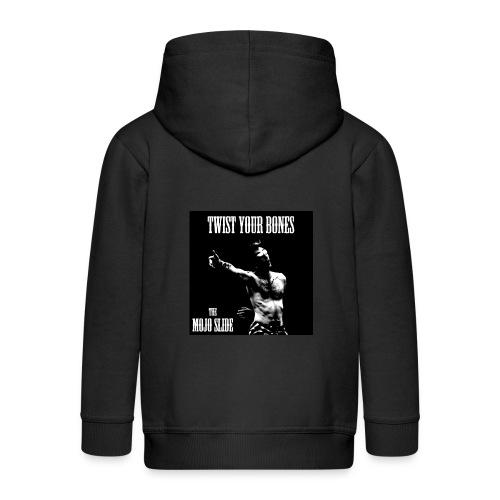 Twist Your Bones - Design 1 - Kids' Premium Zip Hoodie