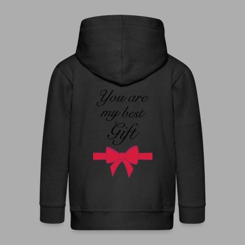 you are my best gift - Kids' Premium Zip Hoodie
