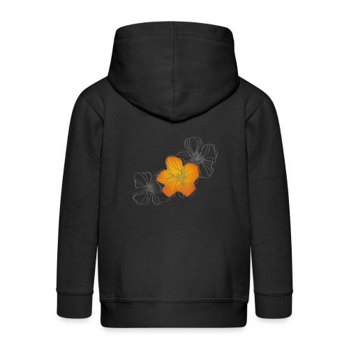 Flowers - Chaqueta con capucha premium niño