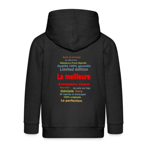 t shirt la meilleure sweat shirt coque et mugs - Veste à capuche Premium Enfant