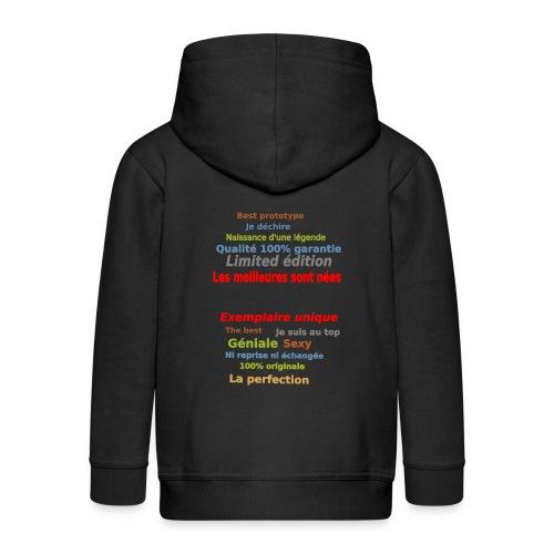 t shirt les meilleures sont nées sweat shirt mugs - Veste à capuche Premium Enfant