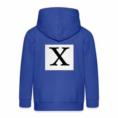 THE X - Kids' Premium Hooded Jacket