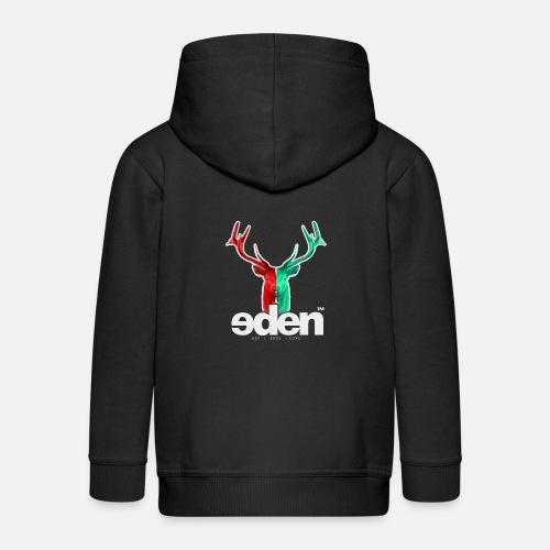 geweihbär EDEN - Kinder Premium Kapuzenjacke