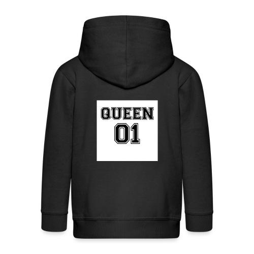 Queen 01 - Veste à capuche Premium Enfant