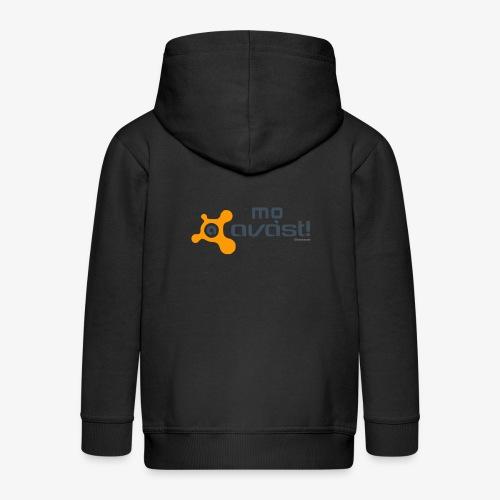Avast! - Felpa con zip Premium per bambini