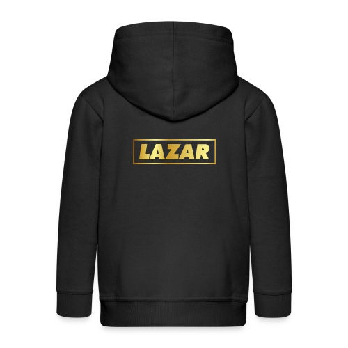00397 Lazar dorado - Chaqueta con capucha premium niño