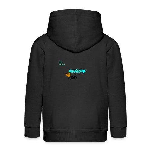 king awesome - Kids' Premium Zip Hoodie
