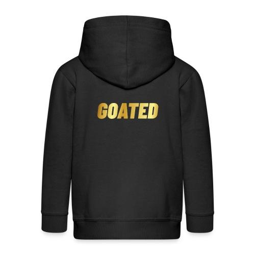 00394 Goated dorado - Chaqueta con capucha premium niño