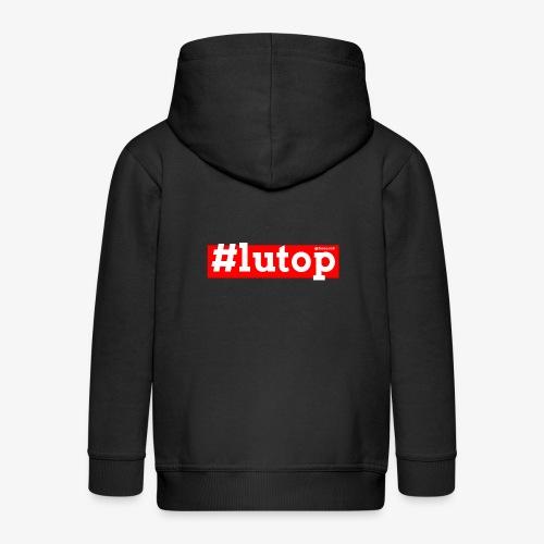 LuTop - Felpa con zip Premium per bambini