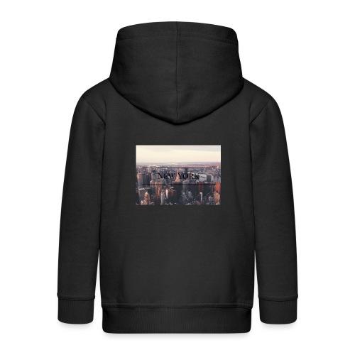 spreadshirt - Veste à capuche Premium Enfant
