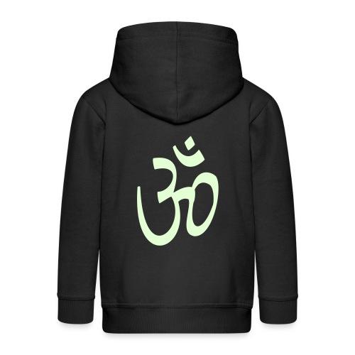aum, Buddhismus - Kinder Premium Kapuzenjacke