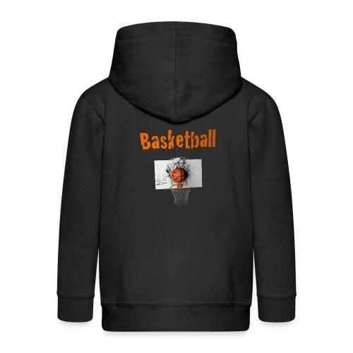 Money time BasketBall - Veste à capuche Premium Enfant