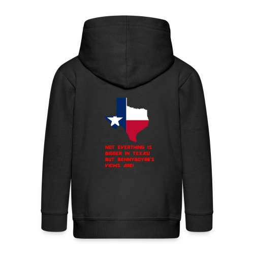 TEXAS MERCH - Kids' Premium Zip Hoodie