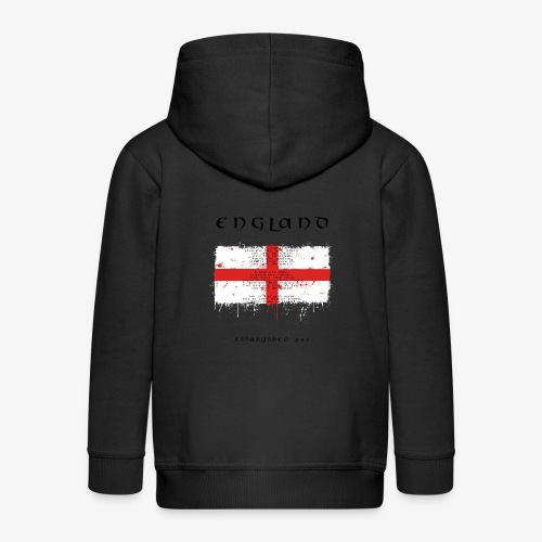 Union Jack England - Kinder Premium Kapuzenjacke