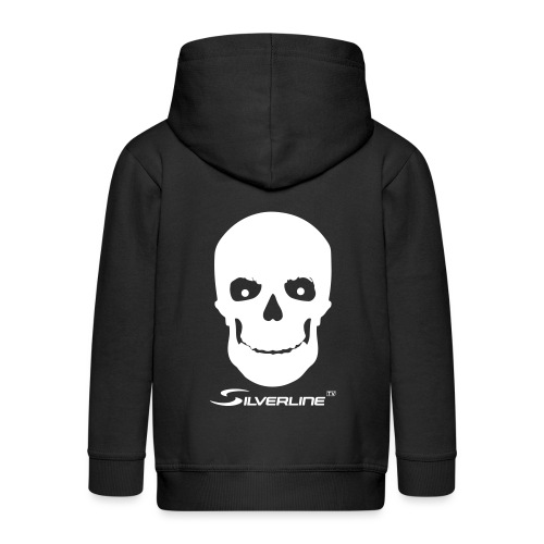 Silverline Skull - Kinder Premium Kapuzenjacke