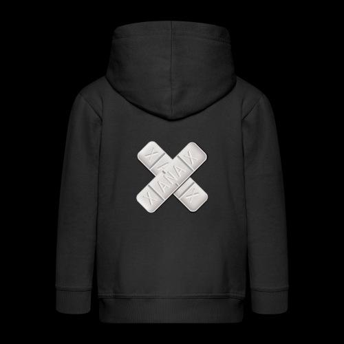 Xanax X Logo - Kinder Premium Kapuzenjacke