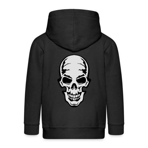 gothic gothique tete mort skull dead 106 - Veste à capuche Premium Enfant
