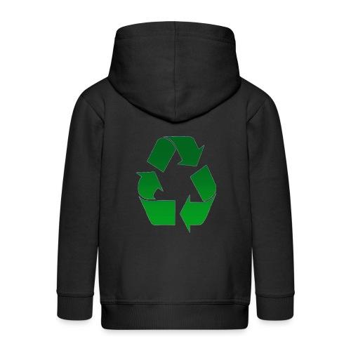 Recyclage - Veste à capuche Premium Enfant