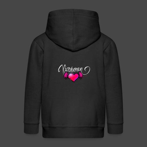 Logo and name - Kids' Premium Hooded Jacket
