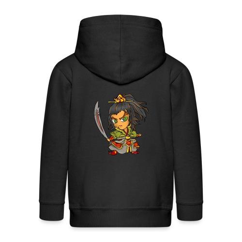 rusty warrior - Kinder Premium Kapuzenjacke